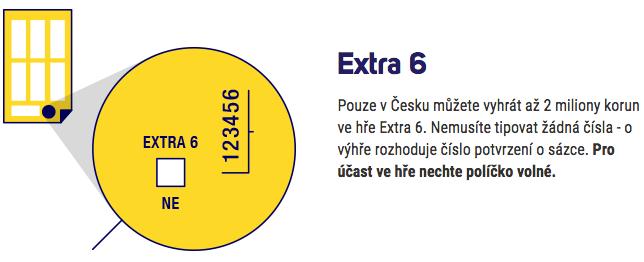 Podrobnosti o doplňkové hře EuroJackpot Extra 6