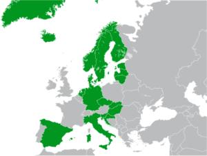 Přehled zemí, v nichž lze hrát EuroJackpot