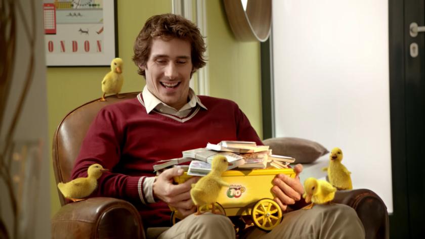 Reklama na hru Šťastných 10