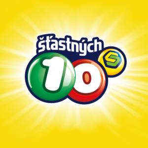 Šťastných 10 logo