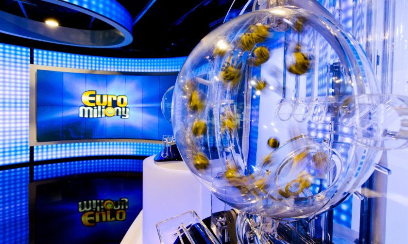 Studio v němž slosování loterie probíhá
