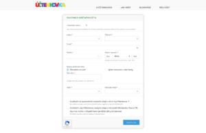 Formulář pro registraci hráče