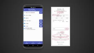 Mobilní aplikace Účtenkovka