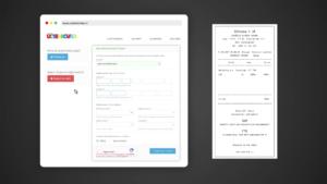 Registrace účtenky přes web